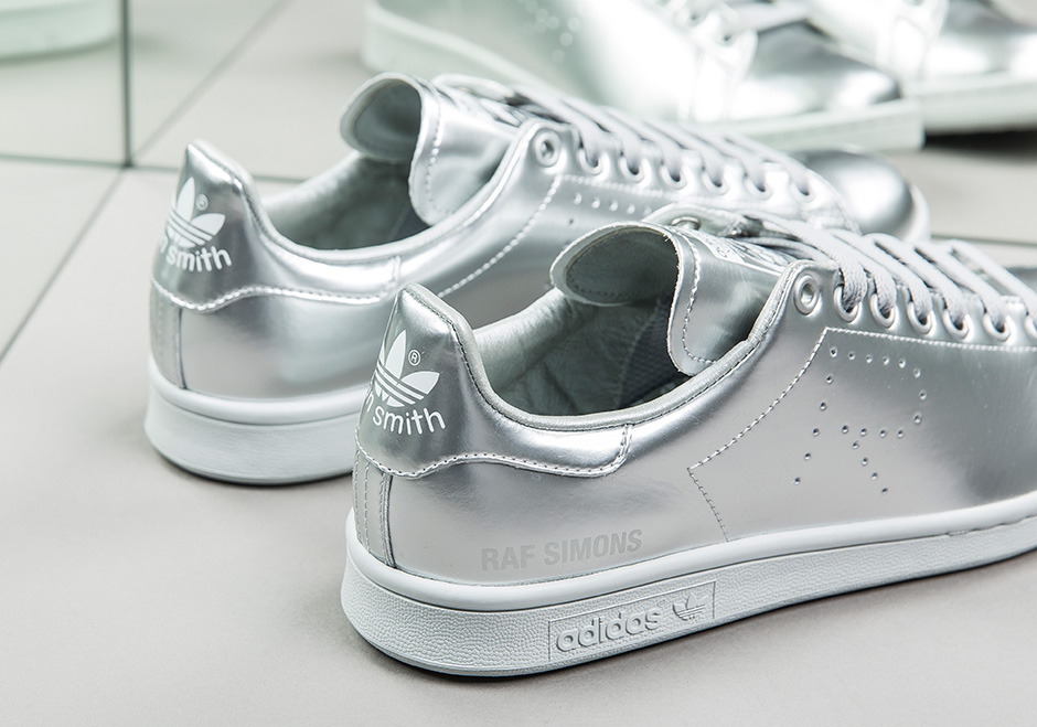 huge selection of 8c085 b72d7 adidas-stan-smith-raf-simons-metallic-silver-03 — Playdot ...